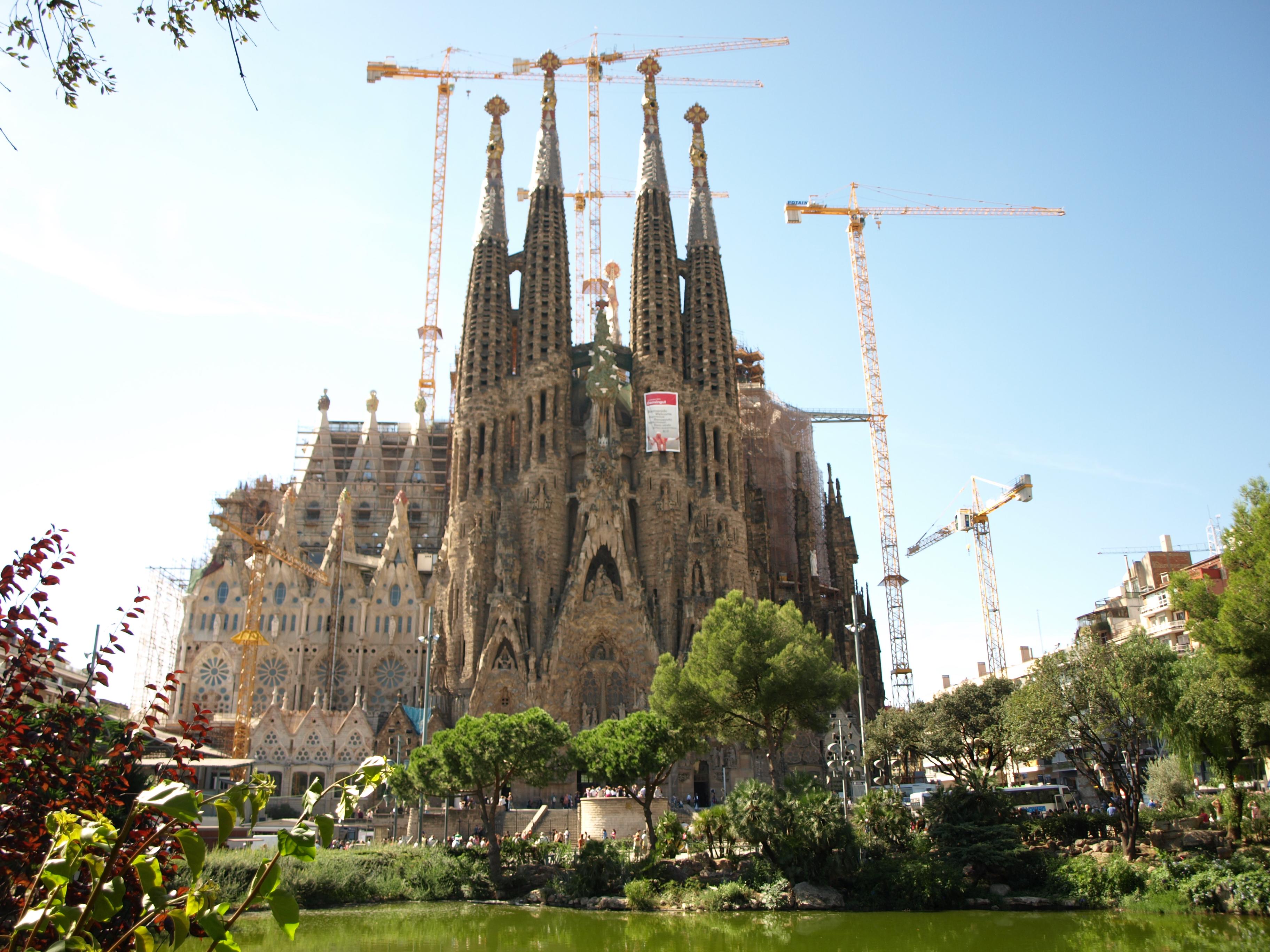 Барселона. Саграда Фамилия