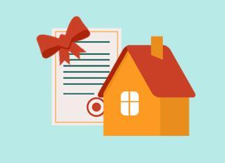 Договор дарения земельного участка с домом