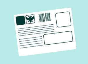 Как заполнить почтовое извещение пустое с обратной стороны
