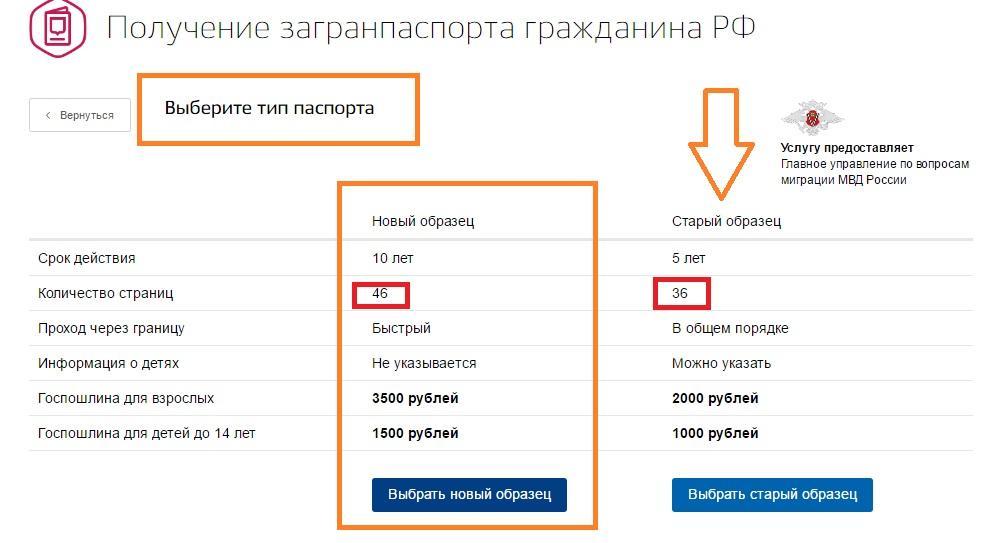 Написать заявление на загранпаспорт онлайн