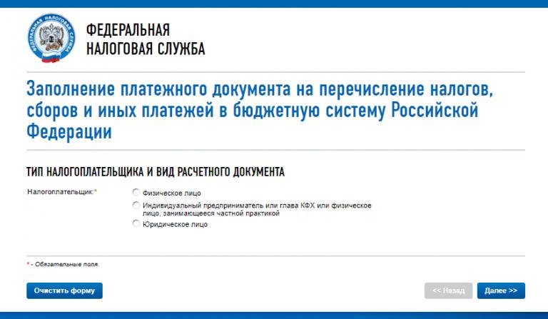 Сделать платежку на сайте налоговой продвижение сайта на вордпресс